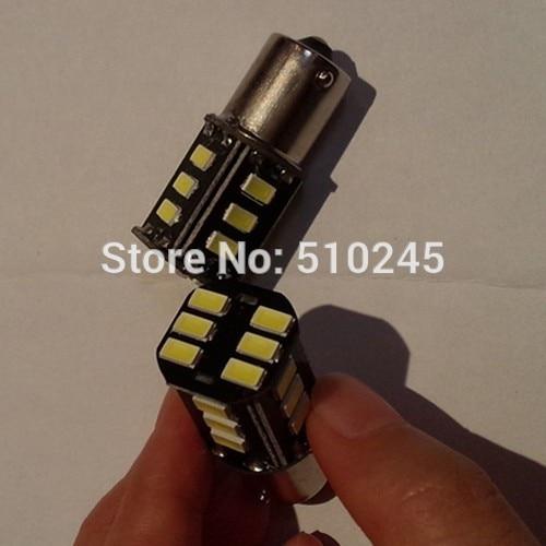 100X cheap auto led car 1156 bulb led light 18 smd 5630 18 leds 12v white Brake Tail Turn Signal Light Bulb Lamp free shipping