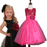 Fashion Girl Dress Christmas Wedding Party Dresses Knitted Party Winter Kids Girls Clothes Children CLothing