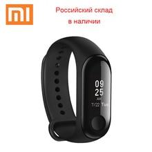 Глобальная версия Xiaomi mi группа 3 браслет OLED фитнес трекер сердечного ритма мониторы Push сообщение Смарт часы mi Band 3