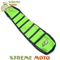 Green Gripper Soft Seat Cover For Kawasaki KX125 KX250 KX 125 250 94 98 Motorcycle Motocross Dirt Pit Bike Off Road Enduro