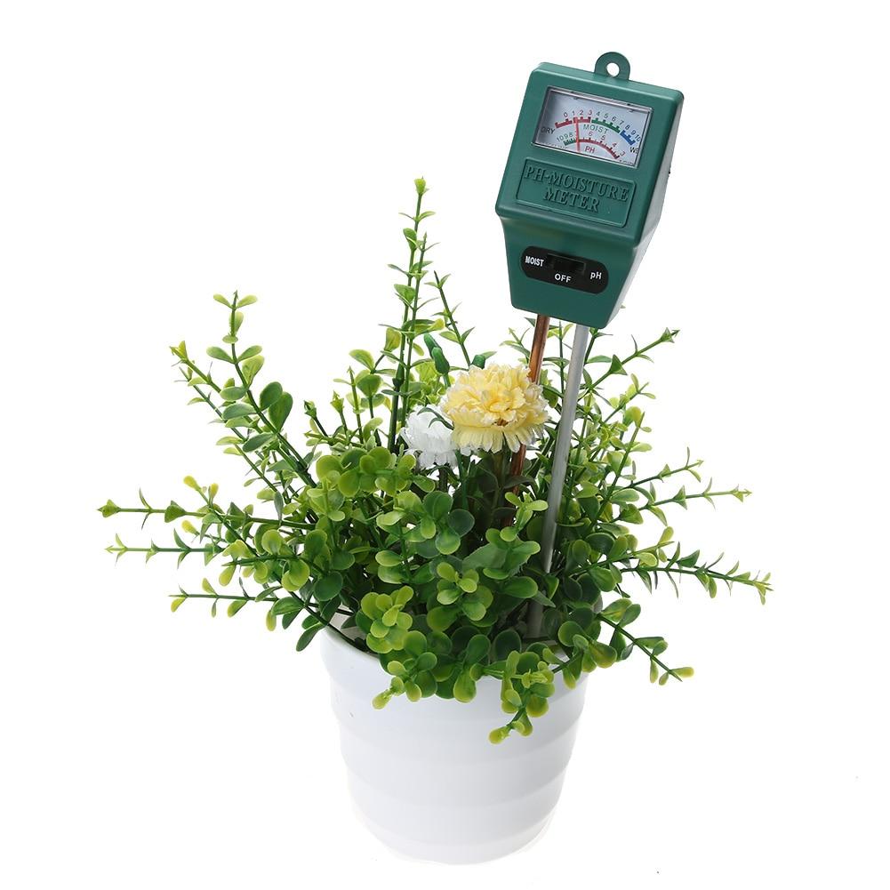 Sodas Dirvožemio drėgnumas PH lygio matuoklis Sodininkystė Augalai - Matavimo prietaisai - Nuotrauka 4
