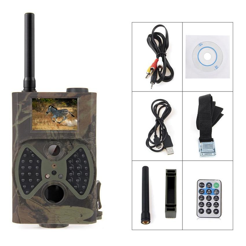 MOOL 2 lcd 12MP камера охотничья CMOS 36 светодиодный инфракрасный пироэлектрический ночного видения охотничья задняя камера водонепроницаемая IP54 Поддержка HD/GSM/MMS/ - 3