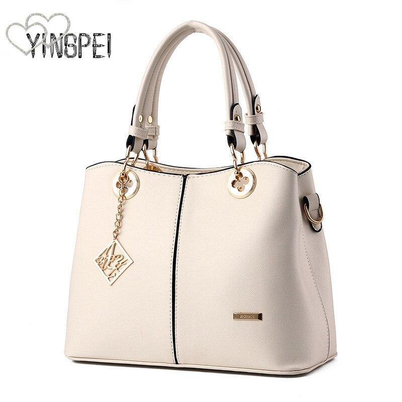 women bag Fashion Casual women's leather handbags Luxury Designer Shoulder bags new bags for women 2018 Large capacity bolsa