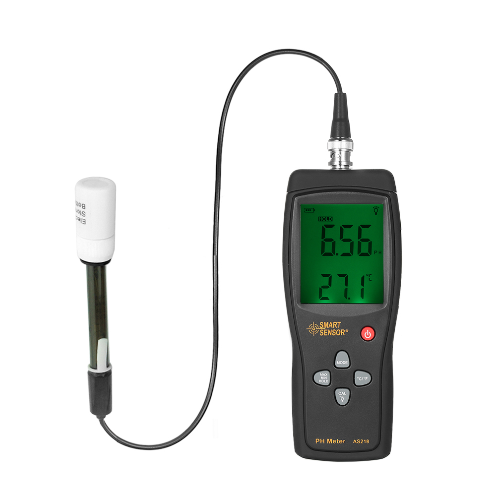 High Precision Aquarium pH Meter Acidimeter Drinking Water Quality Tester Analyzer Temperature Compensation Function+ Backlight pen type digital ph temperature meter tester acidimeter 1 00 15 00 ph
