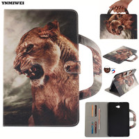 For Samsung Galaxy Tab A A6 10 1 T580 T585 Stand PU Leather Case Portable Tablet