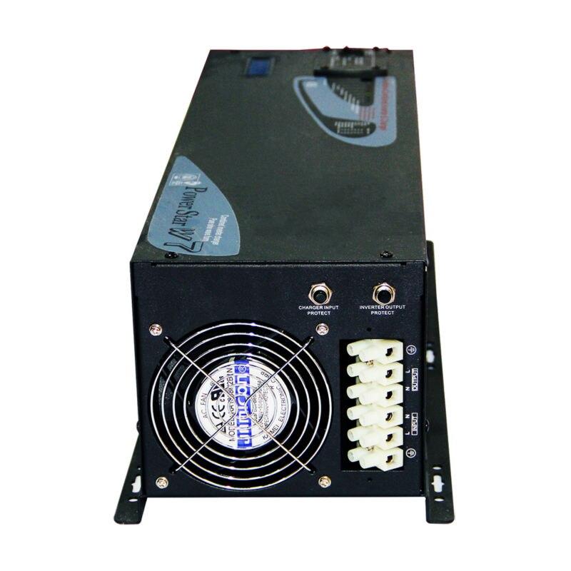 DECEN @ 48 В 6000 Вт пик Мощность 12000 Вт низкой частоты чистая синусоида Мощность инвертор с Зарядное устройство, ЖК дисплей Дисплей, генератор сов