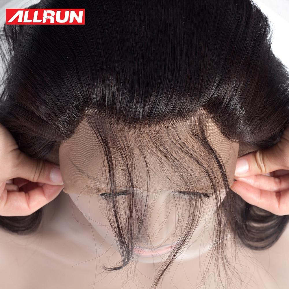 ALLRUN Body Wave ბრაზილიის თმის - ადამიანის თმის (შავი) - ფოტო 4