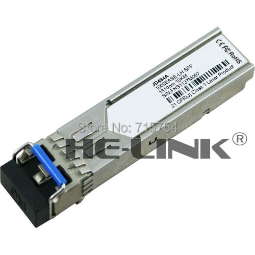 JD494A -X124 1G SFP LC LX Transceiver(HP 100% Compatible)