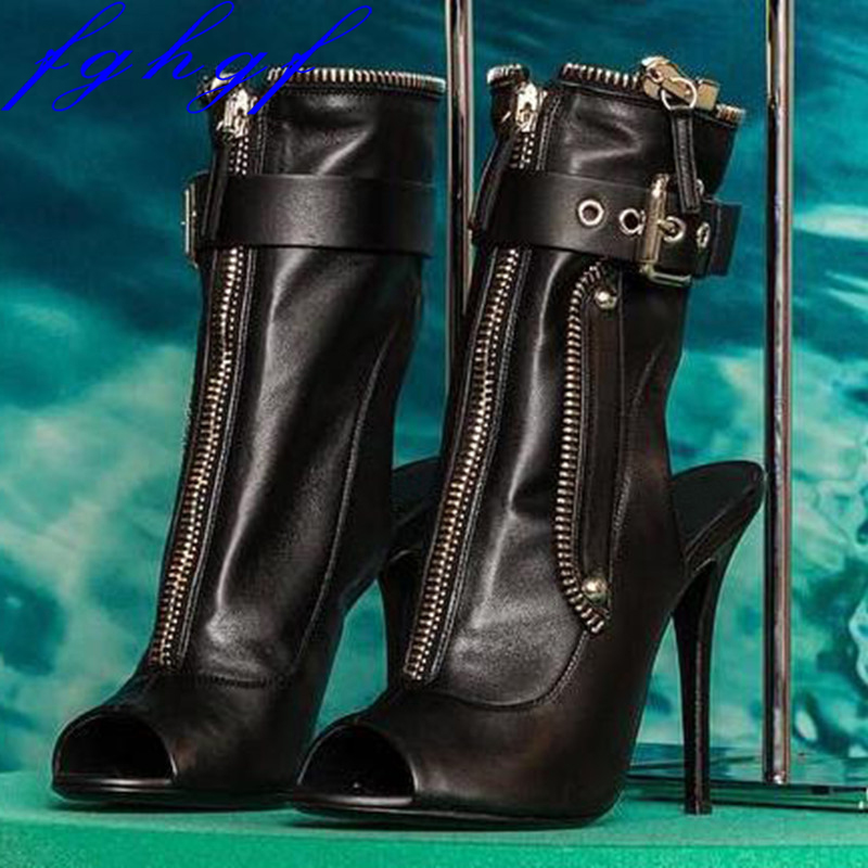 FGHGF NEW lady s sandals fashion high heel sandals dual purpose lady s boots