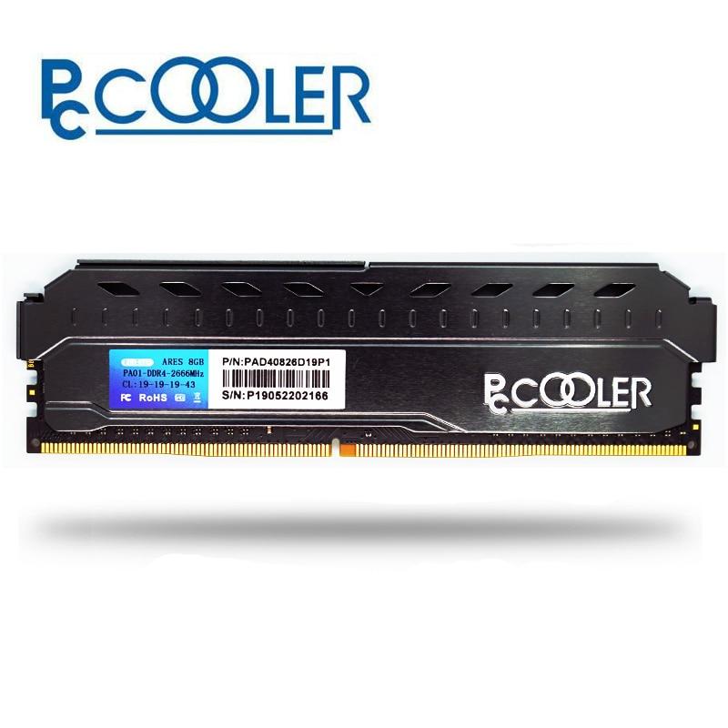 Pccooler 4GB 8GB 16GB 3200 PC Memory RAM Memoria Module Computer Desktop 4G 8G 16G DDR4 PC4 3200MHZ 2400Mhz 2666Mhz 3000Mhz DMII