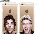Phone Cases One Direction 1D Harry Styles Liam Payne Louis Tomlinson Niall Horan Clear TPU Case for iPhone 5 5s SE 6 6s 7 Plus