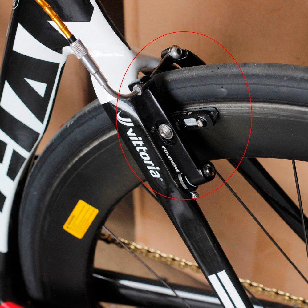 Hot 2Pcs Plaquettes de Frein de Remplacement Blocs Inserts Vélo de Route Vélo po