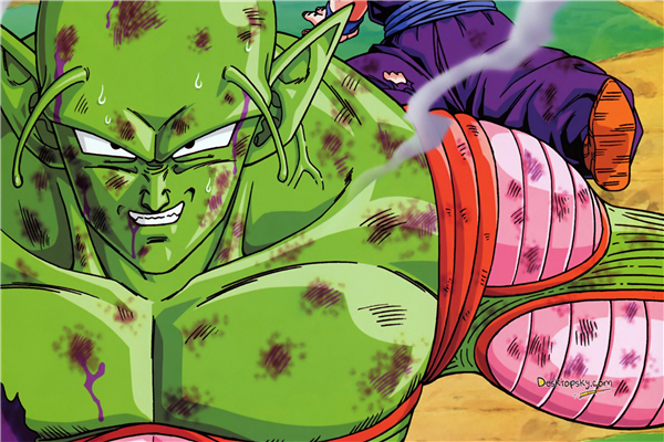 Custom Canvas Art Dragon Ball Z Poster Wall Stickers Piccolo Sticker Mural Anime Wallpaper Home Decoration 1590 In From