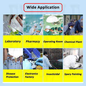 Image 4 - Disposable Waterproof Oil Resistant Protective Coverall For Spary Painting Decorating Clothes Overall Suit L/XL/XXL/XXXL
