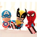 Mr.Froger SpiderMan And Deadpool Plush Dolls Super Hero Cute Action Figure Toys Marvel's The Avengers Animation Minifigures WW51