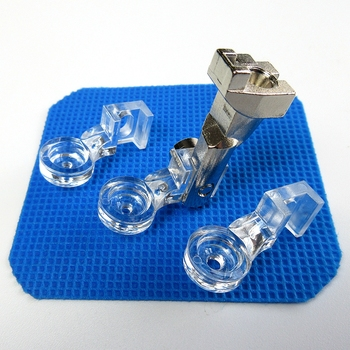 3 Sets Clarity Clear Quilting Couching Decorative Foot For Bernina New Style