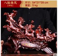 Восемь лошадей сильны декоративно прикладного искусства и ремесел офиса Настольные Украшения для привлечения богатства фэн шуй бизнес пит