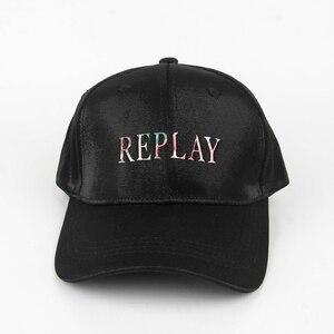 Мужская бейсбольная Кепка Snapback, мужская и женская кепка Replay, брендовая бейсболка с вышивкой, уличная одежда, Всесезонная облегающая шляпа, ш...