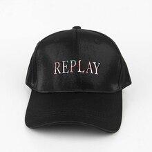 Men's Baseball Cap Snapback Women Hat Replay Brand Embroidery Trucker Caps Streetwear Bone Four Seasons Fitted Hat Hip Hop Hats