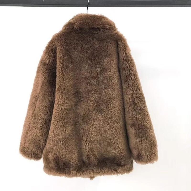 Réel Femmes Casual Naturel Parka Streetwear D'hiver Noir Parkas Shtot Fourrure 2018 Survêtement Chaud 3 Nouveau De 2 1 Épais Veste Manteau Laine qwZxEXgI