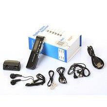 Popular!!! el más nuevo Mejor Precio!!! 8 GB Pantalla LCD USB de Audio Digital Grabadora de Voz Del Dictáfono Reproductor de MP3 Negro Envío Gratis NOM03