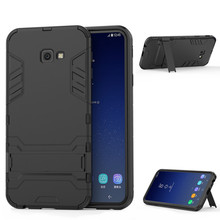 For Samsung Galaxy J4 Plus Case Luxury Stealth Stents Back Cover Stand Case For Samsung J4+ J4Plus J415 J415F SM-J415F Phonecase