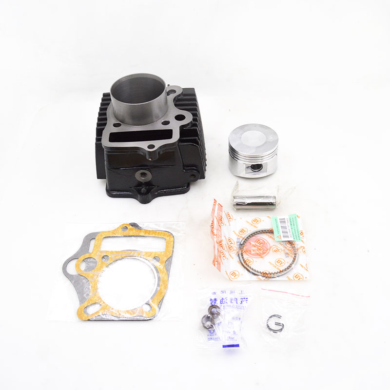 Motorcycle Iron Cylinder Kit 52.4mm For ZONGSHEN LONCIN <font><b>LIFAN</b></font> WS110 JH110 C110 <font><b>110cc</b></font> Underbone Horizontal <font><b>Engine</b></font> Spare Parts image