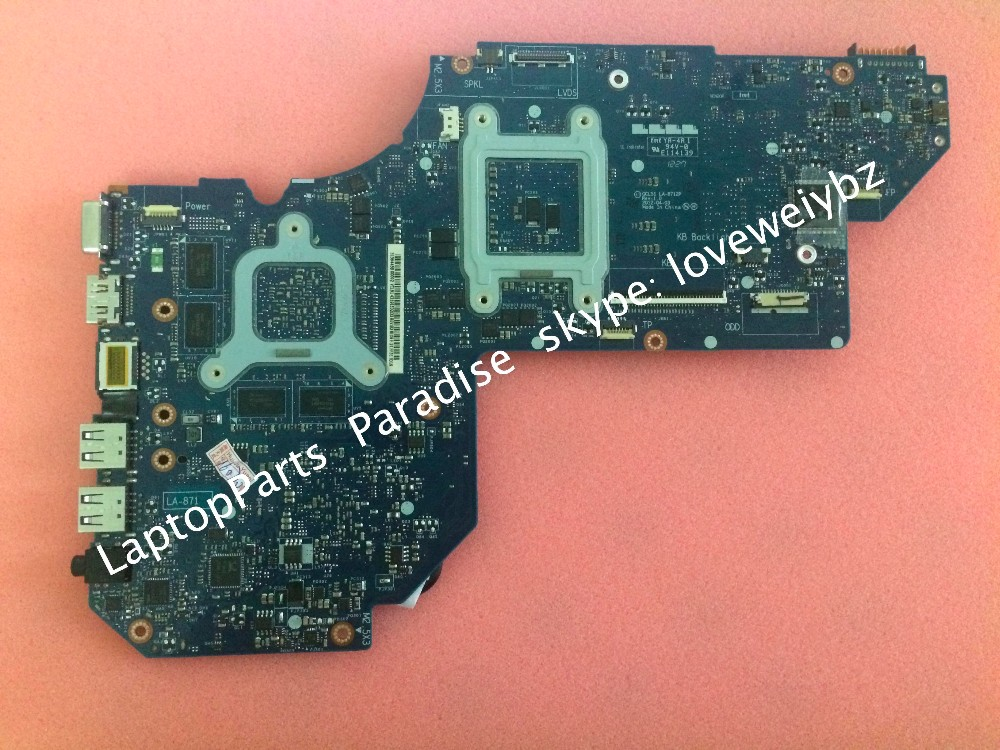 ФОТО Working Perfectly QCL51 LA-8712P Rev 1.0 For HP Envy M6 Motherboard 702177-501 with HD7670M Graphic 2G