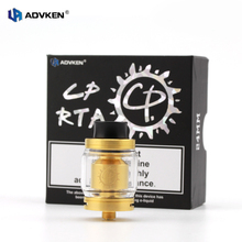 Advken 100% Authentic 810 Atomizer Tank CP Rebuidable RTA With 2.5ml Capacity in Four Colors for 510 Thread Tube Mod or Box Mod