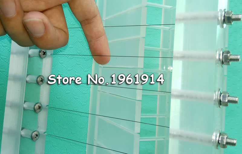 2.5CM(0.98inch)Practical Acrylic Clay Soap Hand Knife String Knife ...