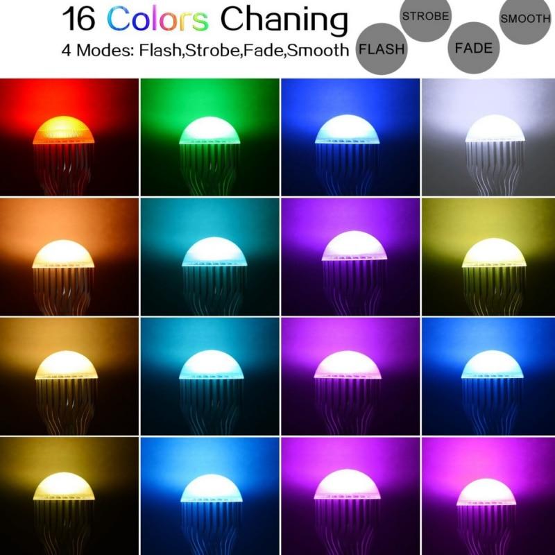 Lâmpadas Led e Tubos cores mutáveis 110 v 120 Lâmpada Led : Lâmpada Bubble Ball