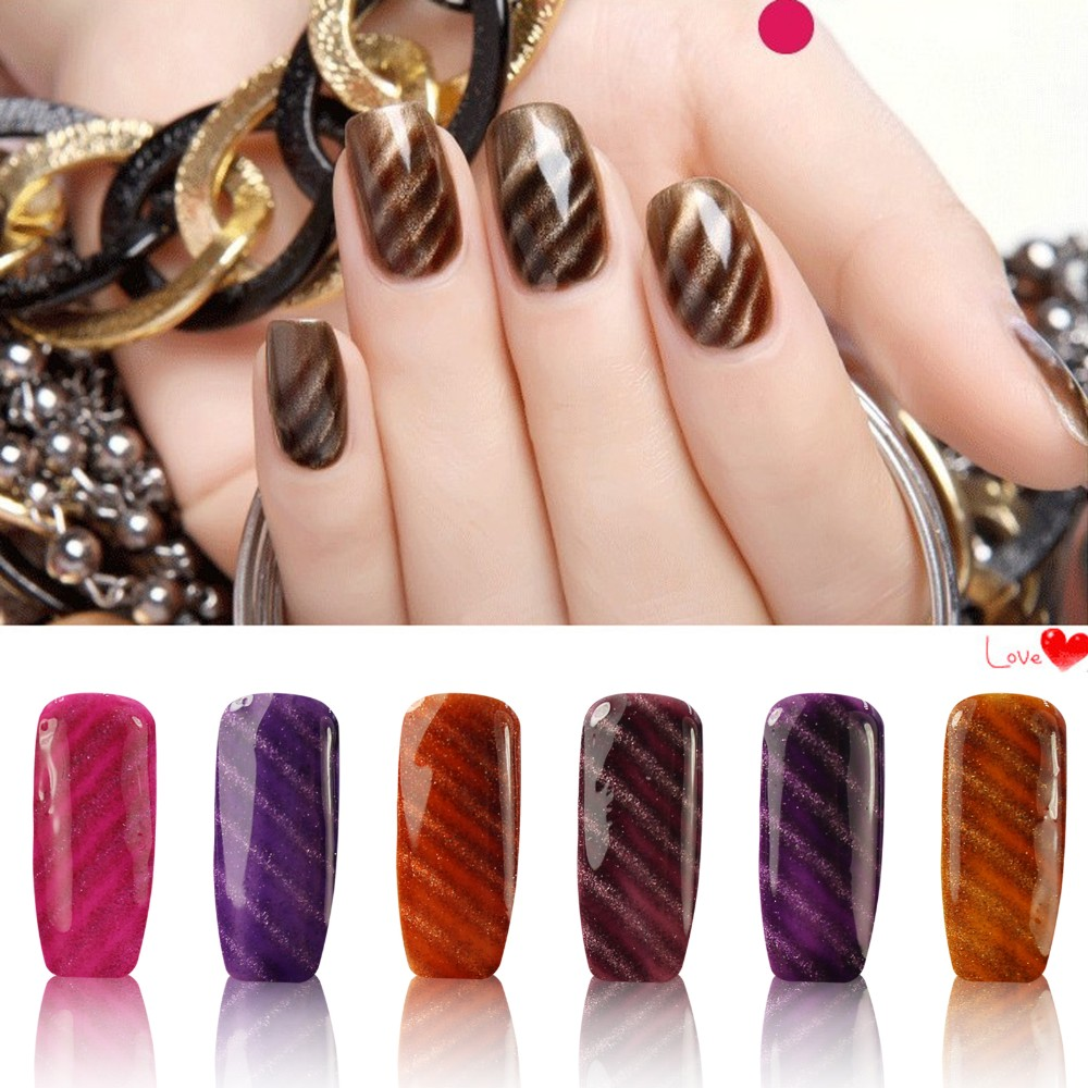 Perfect Summer 4 Colors UV Gel Polish with Base Gel Finish Cover ...