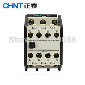 Original CHINT AC Contactor CJ20-16 16A 380V/220V/110V