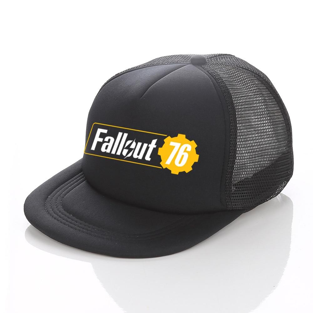 Pip boy Fallout 76 Baseball Cap America Fallout Shelter Dad Hat Women Men Vault-TEC Snapback Cap Casquette For Game Lovers YF025