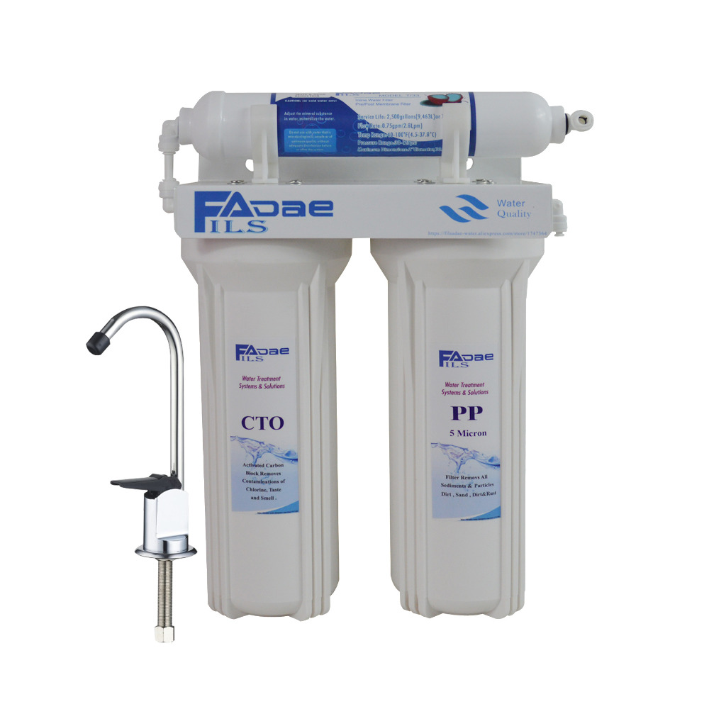 Premium Quality 3 Stage Under Sink Water Filter System