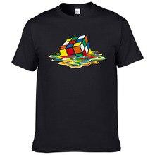 2019 Summer Men T-Shirts The Big Bang Theory Printed Melting