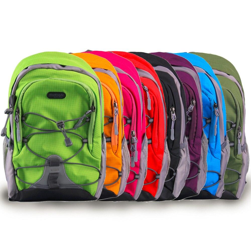 Unisex Lightweight Waterproof Nylon Travel Backpack for School  Leisure Rucksack 15L packs Hot Selling unisex school bag for children waterproof nylon reflective tape backpack spine protected design