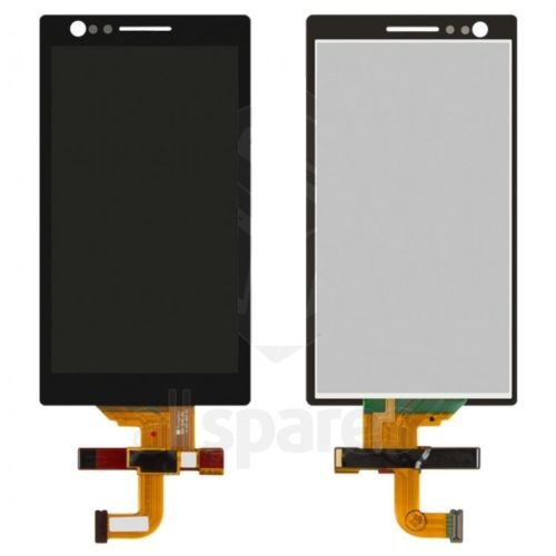 For 5pcs/lot Xperia P LT22i Original New Black Color LCD And Touch Screen Digitizer Assembly No Frame