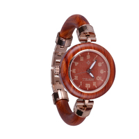 Bewell ladies watch wooden classical female stainless cover hardlex Quartz wristwatches Dial diameter watches horloges vrouwen