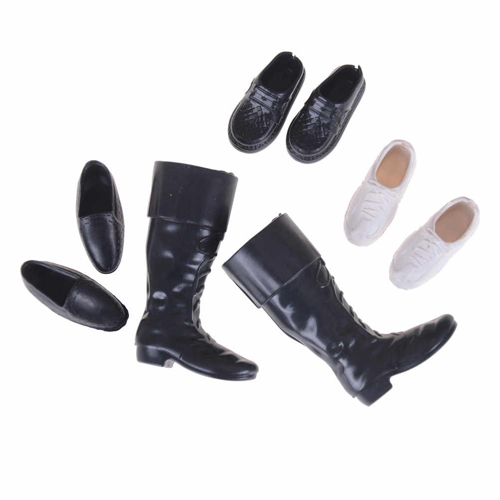4Pairs Fashion Sneackers For Doll Mini Toy for  Doll Shoes Accessories  Hs