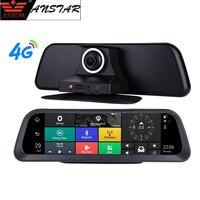 Anstar 10'' Big Screen Dashboard Car DVR 4G Android Auto Camera HD 1080P Dash Cam ADAS GPS Wifi Remote Monitor Registrar DVRs