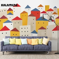 KALAMENG Custom Wallpaper 3D Cartoon Mountain H Oil Painting Modern Abstract Art Wall Mural Living Room