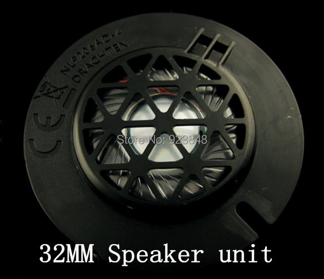 32mm speaker unit maintenance upgrade BASS speaker unit speaker driver