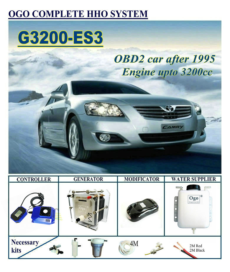 OGO Complete HHO system G3200-ES3 Smart PWM CHIP UPTO 3200CC цена
