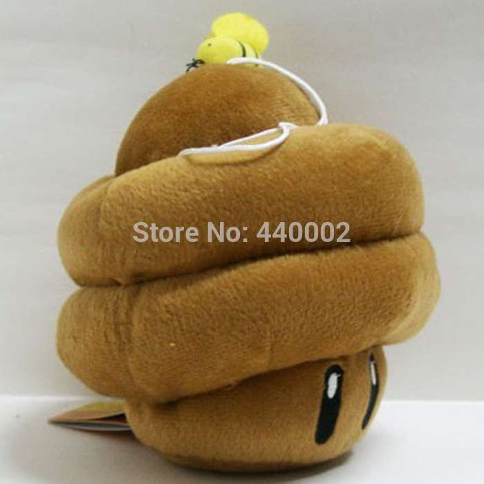 New Super Mario Brothers Plush Figure 6 1 2 Brown Mushroom