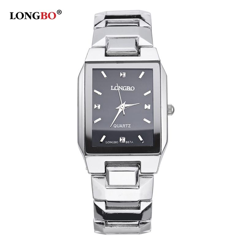 LONGBO 2017 Luxury Men Women Watch Top Brand Brief Casual Crystal WristWatches Couple Quartz Watch Relogio Feminino Montre Femme