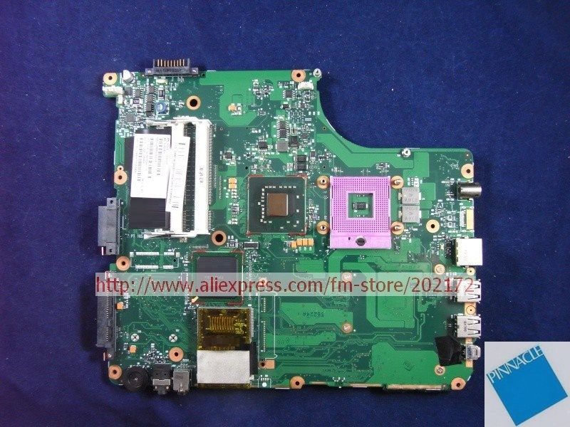 все цены на V000125610 Motherboard for Toshiba Satellite A300 A305 6050A2169401 онлайн