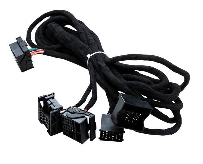 Universel Spécial Extra Long ISO Faisceau De Câblage 6 M Câble Pour BMW E38, E39, E46, E53 Voiture DVD peut être utilisé avec la plupart des modèles OEM