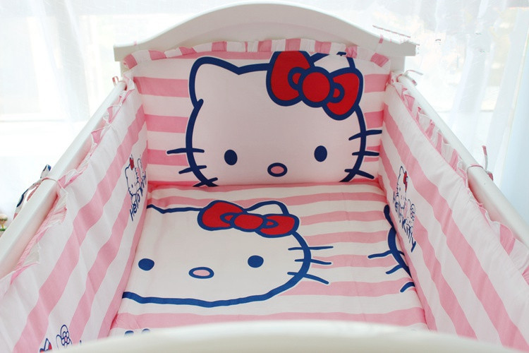 Promotion 6 Pcs De Bande Dessinee Bebe Garcon Crib Set Lit