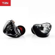 TRN IM2 1BA + 1DD hybrydowy w uchu słuchawka Running słuchawka sportowa DJ zestaw słuchawkowy hi fi niestandardowe słuchawki odpinany odłącz kabel 2Pin